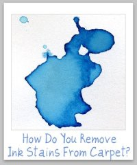 Tips For Removing Ink Stain On Carpet