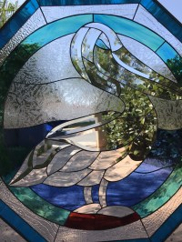 Octagon Stained Glass Window - Glass Designs