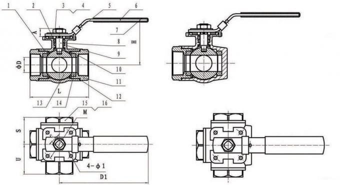 prather 3 way valve diagram