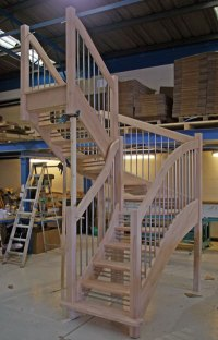 Open Riser Staircases from Staircases.biz