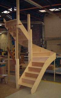 Staircase Specialists - Winder Staircases made to measure UK