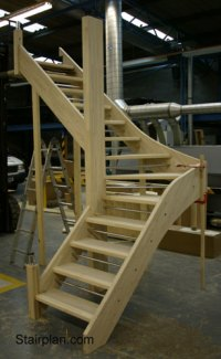 Open Plan staircases from Stairplan Openplan Open Riser ...