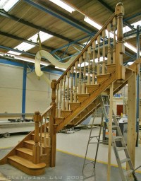 Winder Staircases from stairplan the manufacturers of ...