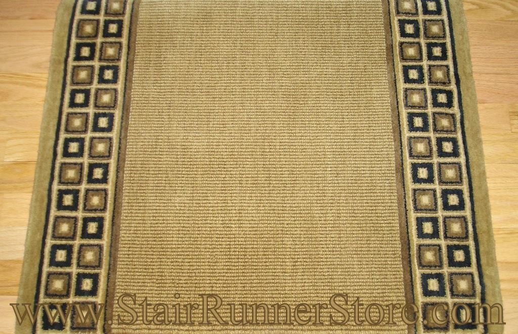 Cosmo Rib Stair Runner Chestnut 36quot C57r Carpet Runner