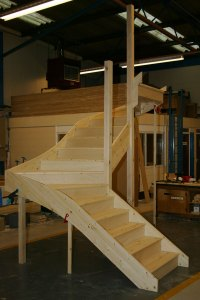 Pine Stairs and Staircases UK - Timber Stair Manufacturers ...