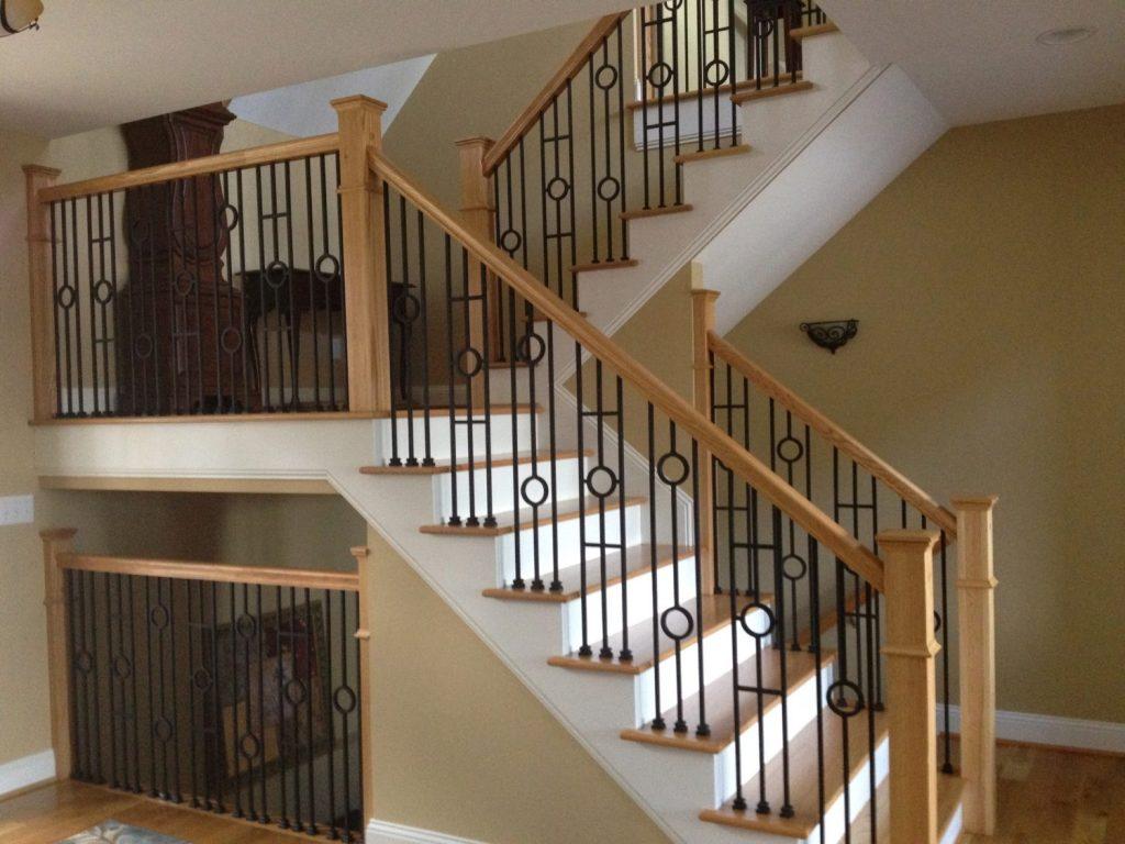 16131 Double Circle Iron Baluster Stairsuppliestm