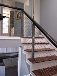 Project # 176 - Cable Railing Project & Winder Treads ...