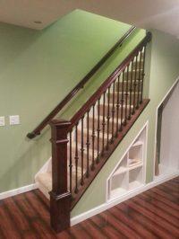 8500 Standard Knee Wall Cap - StairSupplies