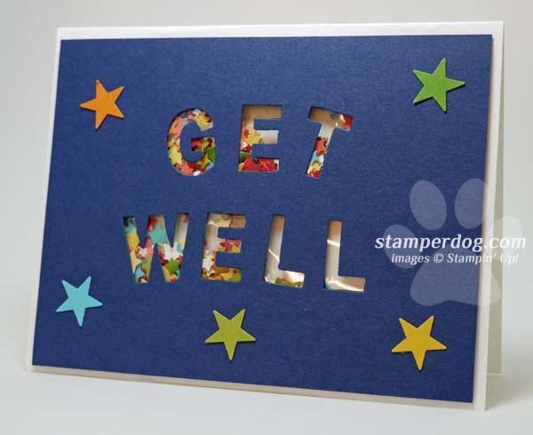 Get Well Soon Card Stampin\u0027 Up! Demonstrator Ann M Clemmer