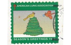 American Lung Association, USA stamp