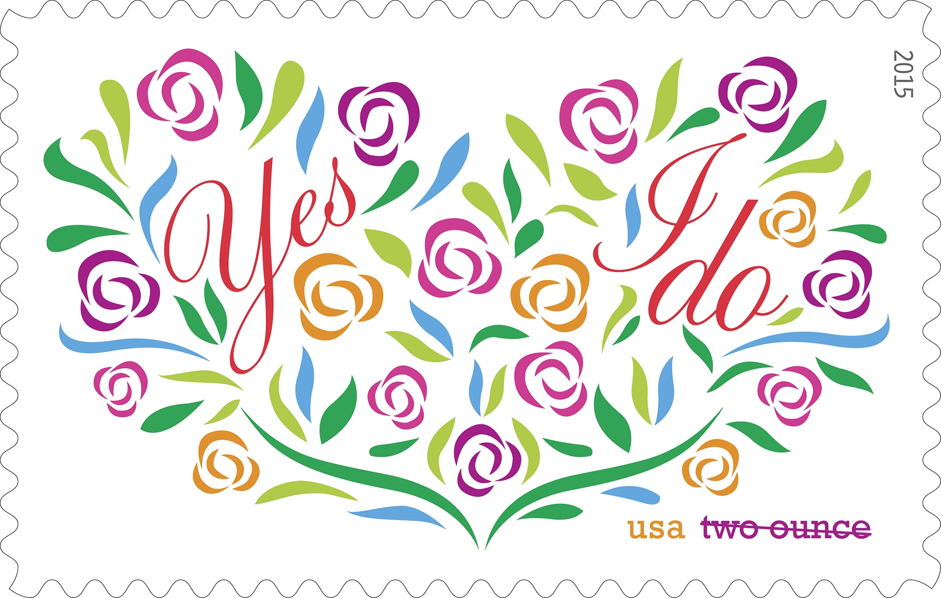 uspsnewissues wedding postage stamps Click to see larger image