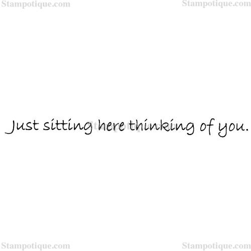 Medium Of Just Thinking About You