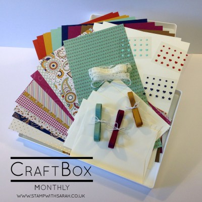 CraftBox Monthly coming in September!