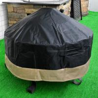 Stanbroil Full Coverage Round Fire Pit Cover, Black, 60 ...