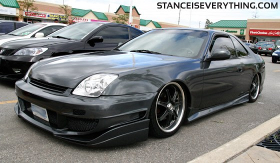 Slammed, kitted Prelude