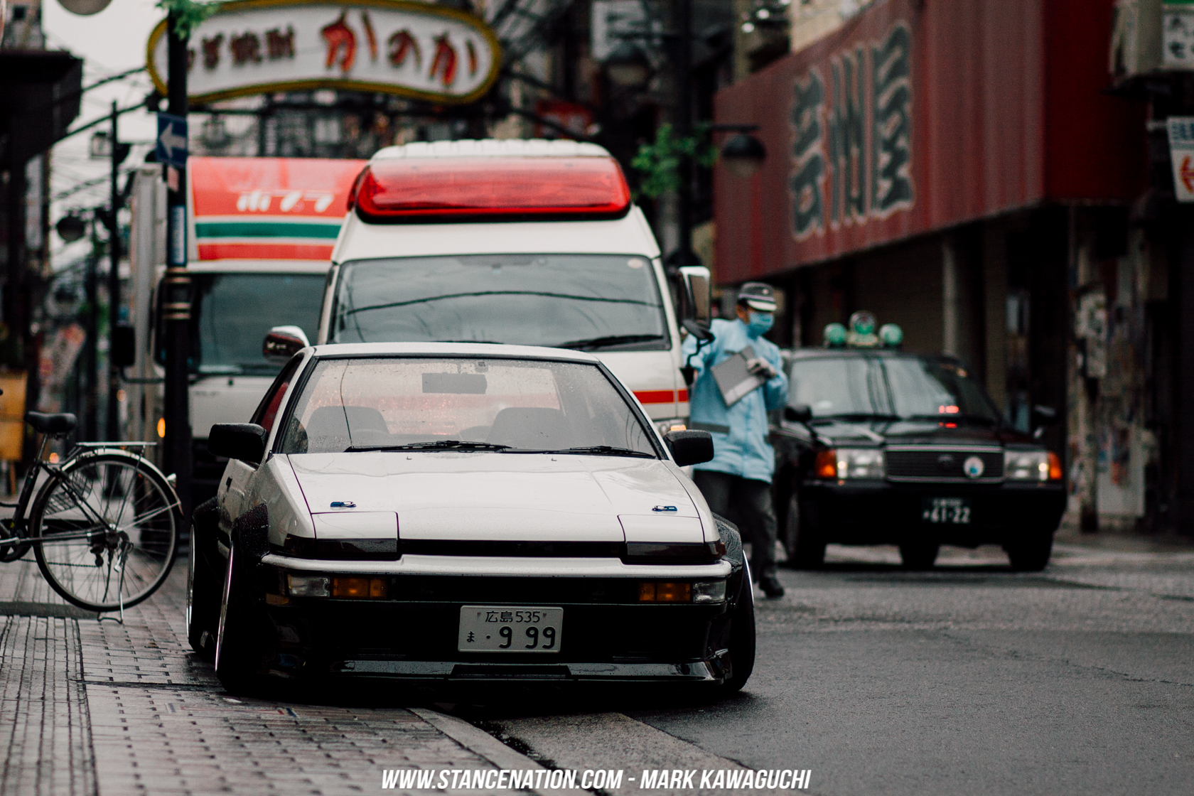 Stanced Car Iphone Wallpaper Old School Perfection Takanobu S Toyota Sprinter Trueno