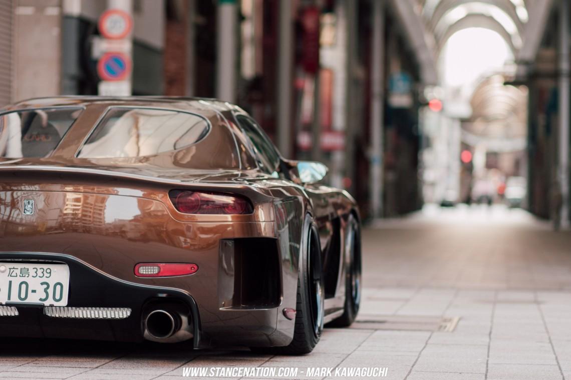 Widebody Drift Car Wallpaper Dream Come True Ken S Veilside Rx7 Stancenation