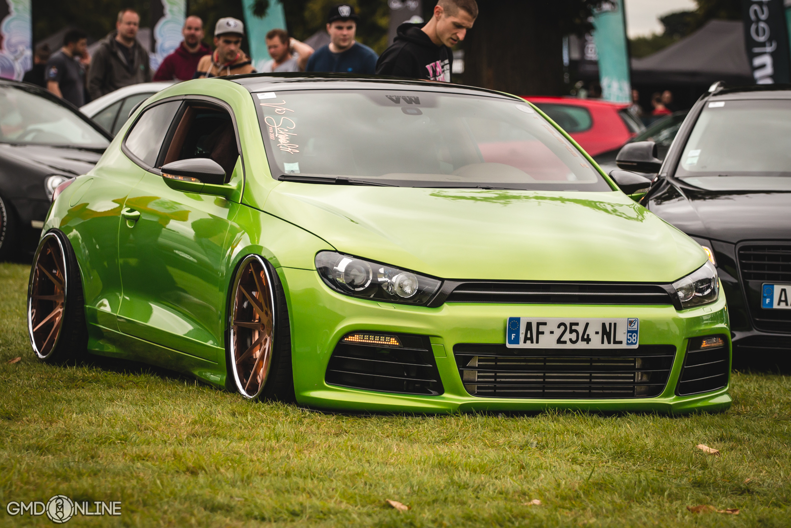 Vip Cars Hd Wallpaper Extremely Clean Vw Scirocco Stancenation Form