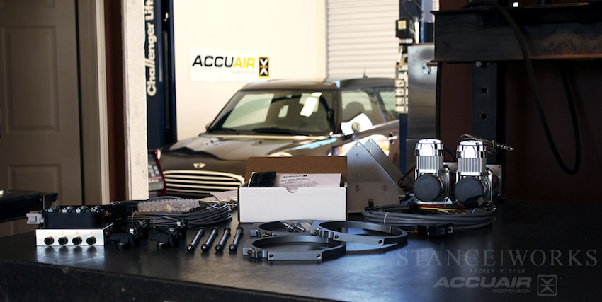 The AccuAir Experience - Part 1 Install - StanceWorks