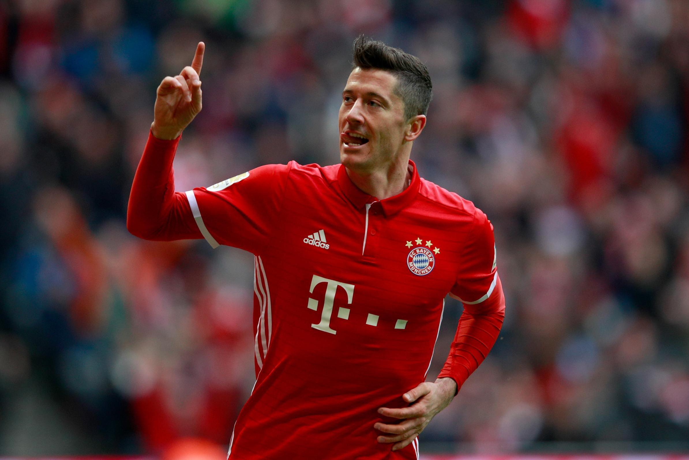 Wallpaper Arsenal Hd Bayern Munich Vs Arsenal Robert Lewandowski Will Pose