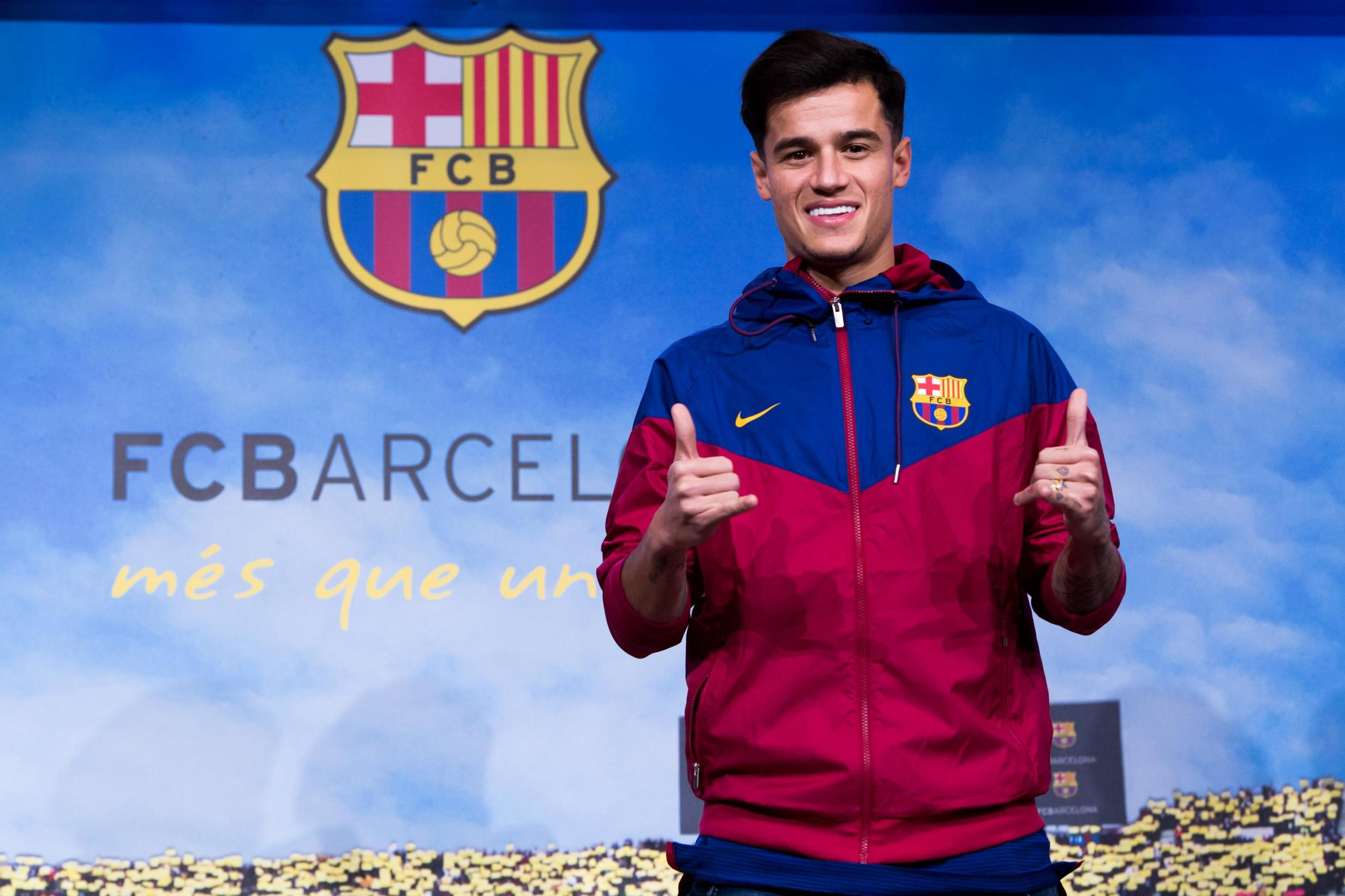 London Iphone X Wallpaper Philippe Coutinho Shirt Number Barcelona Star Takes No 14
