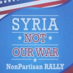 syria anti-war poster