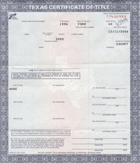Houston Auto Title Services - Auto Title - Bonded Title ...