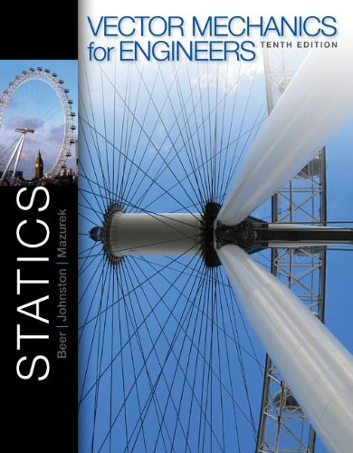 vector mechanics for engineers statics 10th edition
