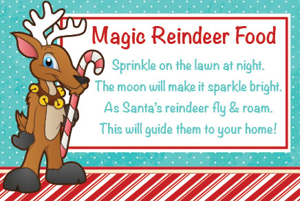 magic reindeer food  Standley Feed and Seed