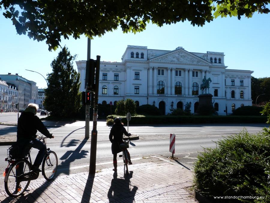 Verhuizen naar Hamburg - Altonaer Rathaus - Standort Hamburg