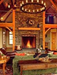 Standout Masonry Fireplace Designs! Stone Fireplace ...