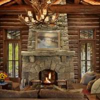 Standout Stone Fireplace Pictures . . . EXTRA ...