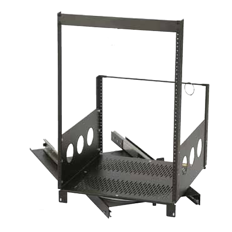 Chief Raxxess Rotating Pull Out Rack System Black Rotr