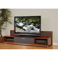 Plateau Valencia Series Backlit Modern Wood TV Stand for ...
