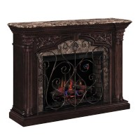 Classic Flame Astoria Wall Mantel Electric Fireplace with ...