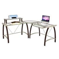 Z-Line Designs Kayden Corner Desk with Hutch Espresso with ...
