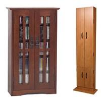 Media CD DVD Racks, Cabinets & Towers | Free Shipping