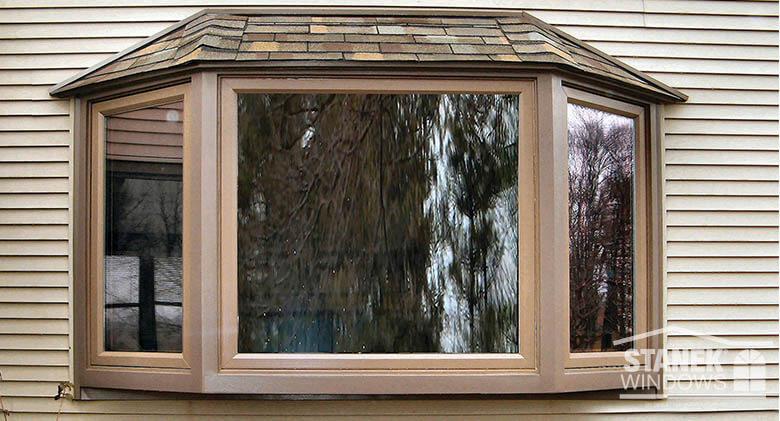 Bay Window Photo Gallery Vinyl Replacement Windows Stanek