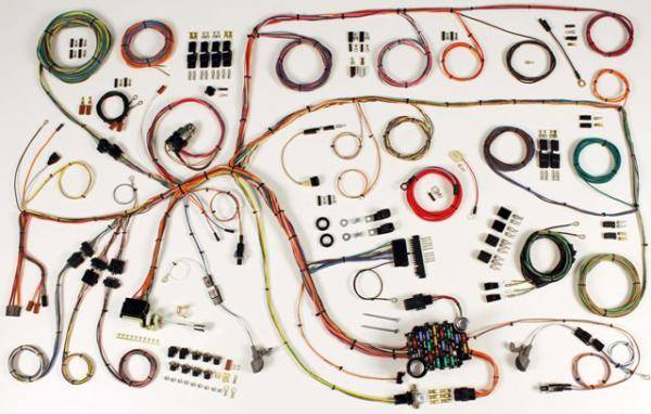 60-64 Ford Falcon, 60 - 65 Comet Complete Chassis Wire Harness Kit