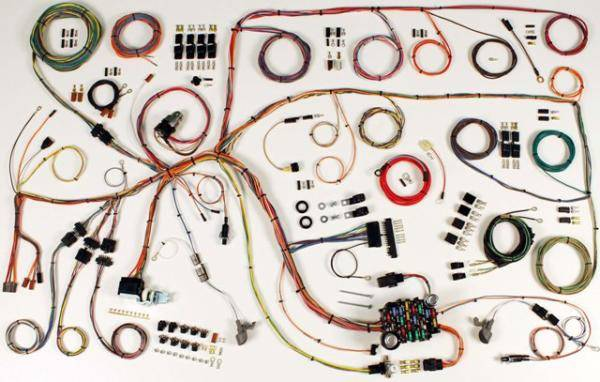 65 Falcon Classic Update Chassis Wire harness Kit