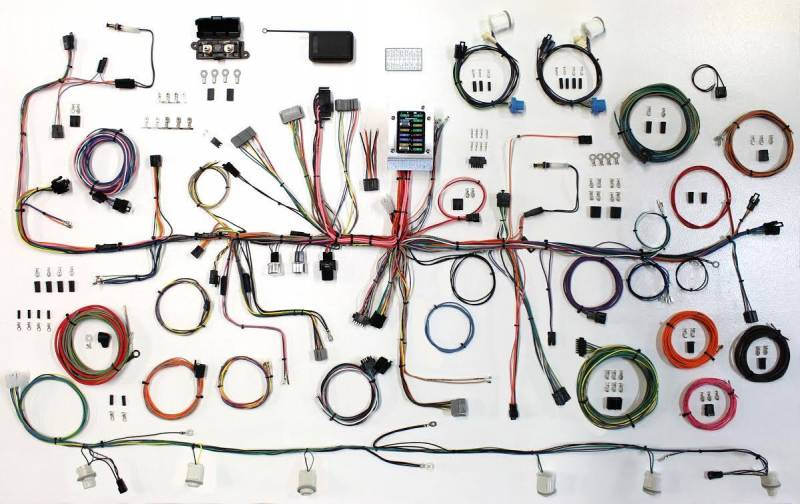 87 - 89 Fox Body Mustang Classic Update Wire Harness Kit