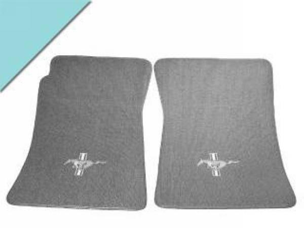 Mustang Custom Full Size Carpet Floor Mats Convertible Aq