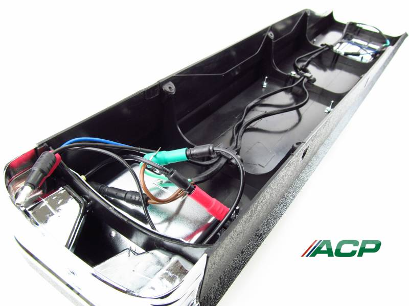 64 - 66 Mustang Center Console Assembly, Manual (No A/C)