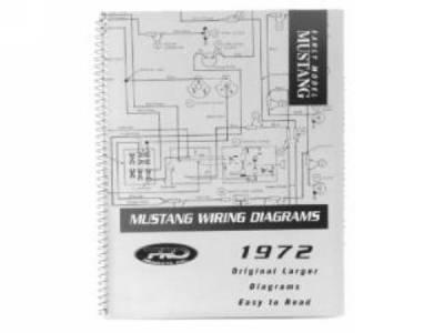 1969 Mustang Pro Wiring Diagram Manual (large Format)