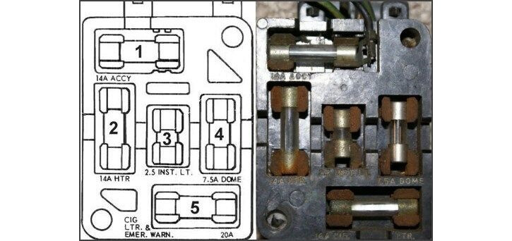 1966 Mustang Fuse Box - Wiring Diagram Progresif