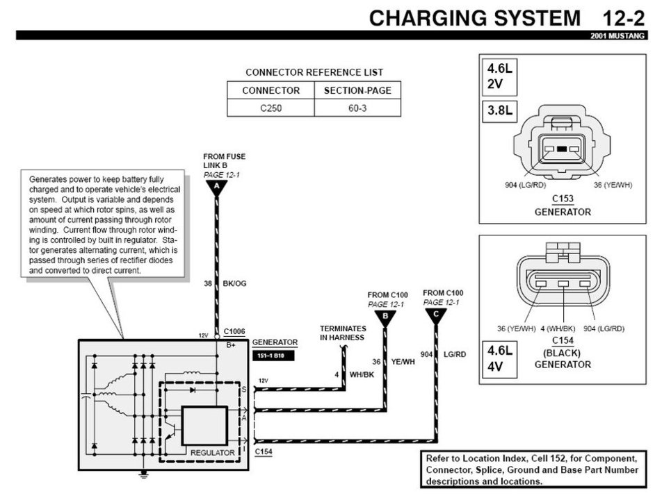 2001 mustang wire diagram