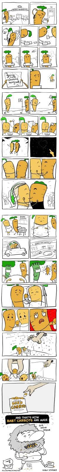 Baby Carrots Comic