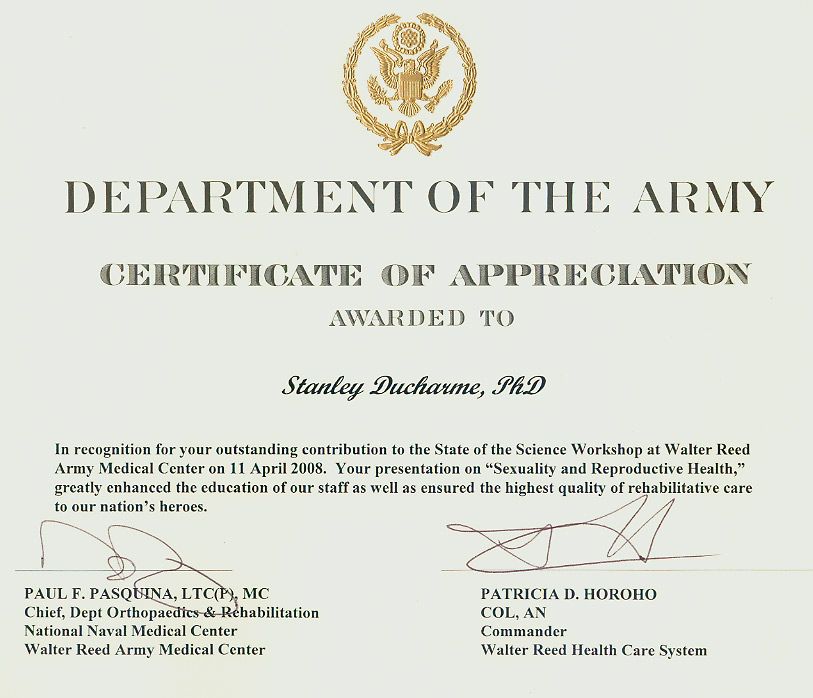 Army Training Certificate Template – Army Certificate of Training Template