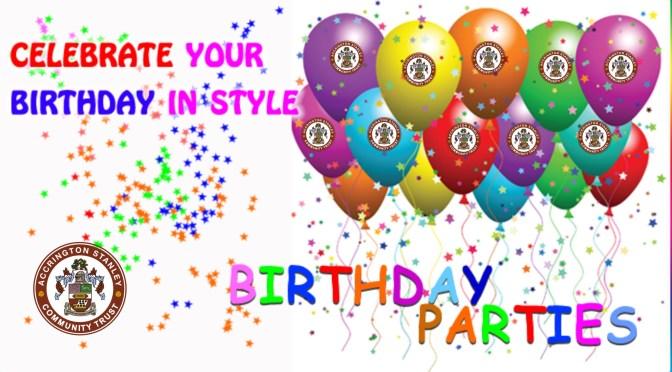 Birthday Parties Image