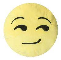 Innova Imports Emojee Heart Eyes Throw Pillow; EMOJI ...